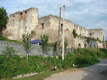 צ'ורטקוב מבצר Chortkow Castel Zamek זמק 1522