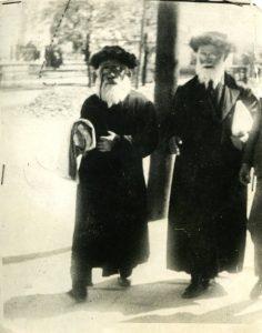 רבנים בצ'ורטקוב אוסף משפחת ליבהרט גייזלר