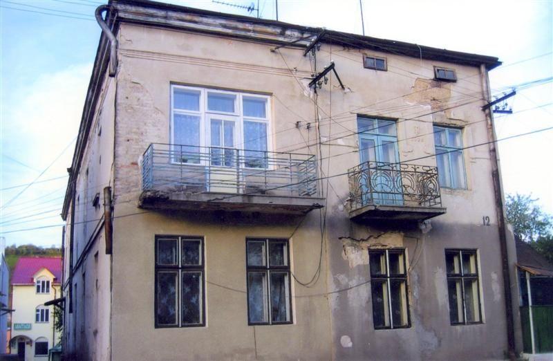 בית היודנראט ברחוב סקלדובה Judenrat House Chortkow