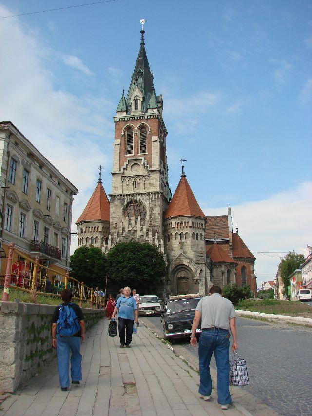 כנסיה קתולית הפולנית צ'ורטקוב Chortkow Polish Catholic Church