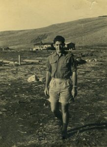 לוי מן, מפקד פלוגה בחטיבת גולני, 1949