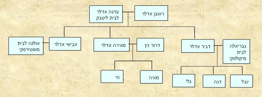 עץ משפחת ליטבק אלטשולר נויברגר 1