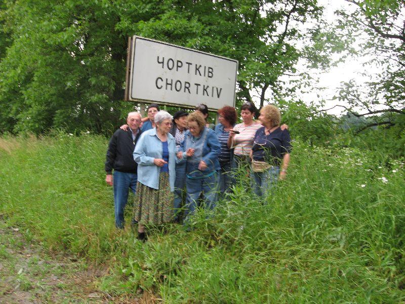 רינה גבעון במסע שורשים לצ'ורטקוב 2008 (1)