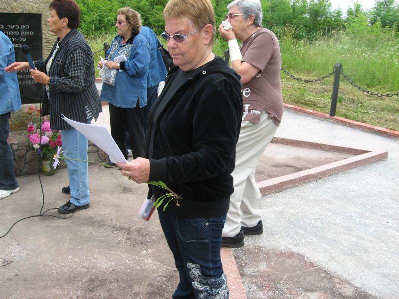רינה גבעון במסע שורשים לצ'ורטקוב 2008 (19)