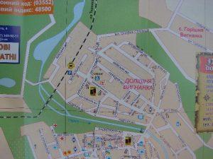 map מפה קטע ממפת העיר צ'ורטקוב