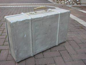 חפצים מצ'ורטקוב מזוודה בה אסף יצחק שטרנשוסלפני עלייתו לישראל את שארית חפציו שפוזרו אצל הגויים בזמן המלחמה