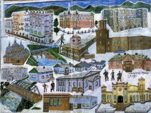 שלמה אלטניי ציור עירי צ'ורטקוב