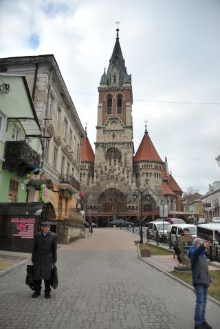 מרכז העיר צ'ורטקוב Chortkiv Czortkow 2019