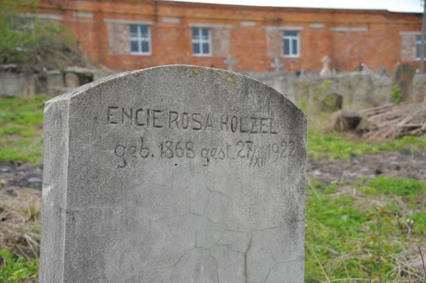 מצבה מס 34 הנצי רוזה הוצל 1922 Old Jewish Cemetery Chortkiv