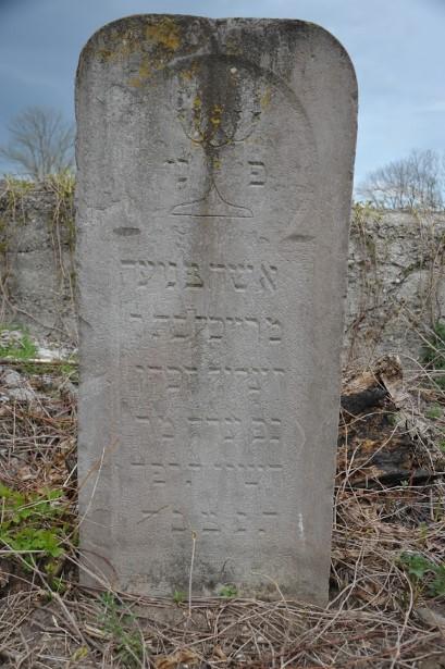 מצבה מס' 6 רייכל בת זעליל הכהן 1924 Old Jewish Cemetery Chortkiv